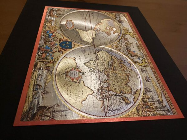 old-map2-gravure-metal-art-3d-effect