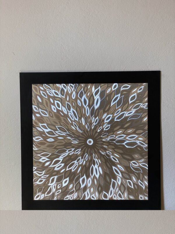 abstract-flames-silver-40-x-40-gravure-foil-art-etching