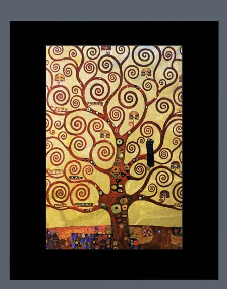 klimt-tree-of-life-gravure-metal-art-3d-light-effect