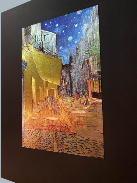 cafe-terrace-van-gogh-mini-gravure-metallic-print-art