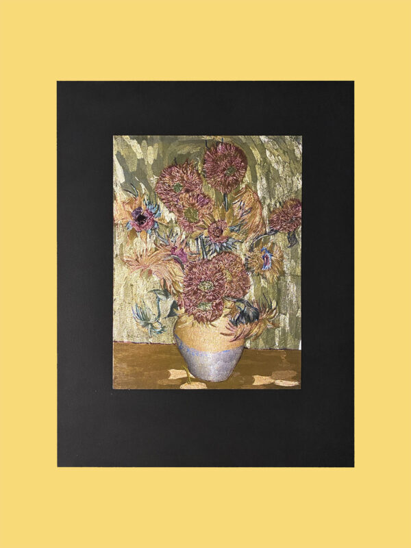 sunflowers-van-gogh-mini-handmade-gravure-metallic-print-art
